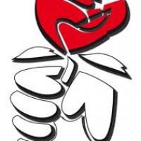 Das Logo der Arbeitsgemeinschaft Jusos.
