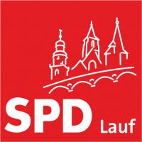 Das Logo des SPD Ortsvereines Lauf an der Pegnitz.